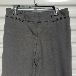 LOFT basic black straight wide leg dress pants
